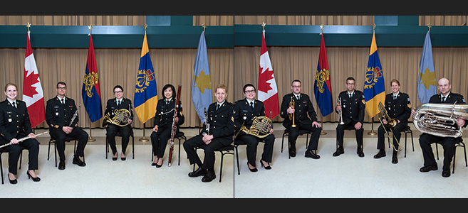 THE ROYAL CANADIAN ARTILLERY BAND